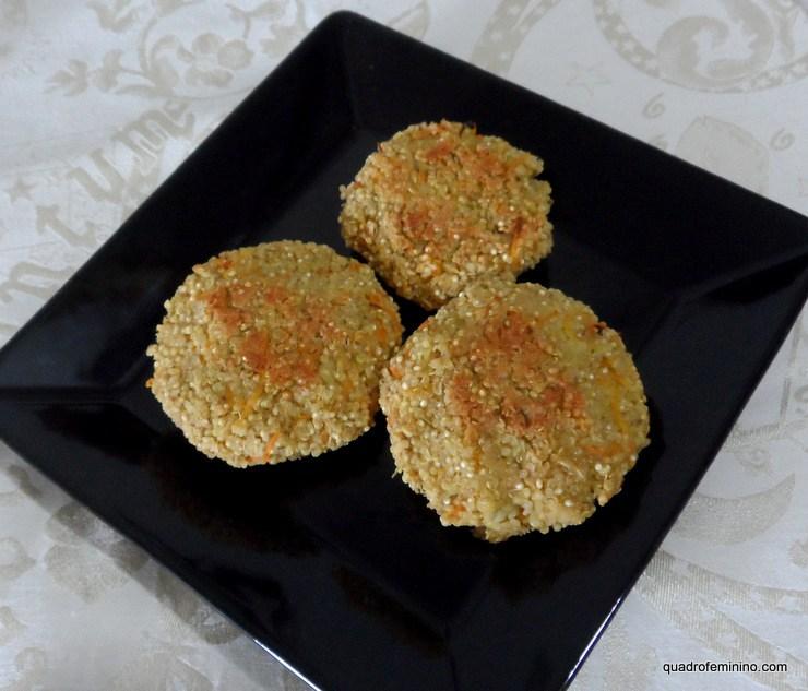 Hambúrguer-de-quinoa