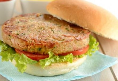 hambúrguer de atum