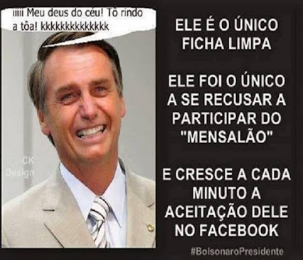 Jair Bolsonaro ficha limpa