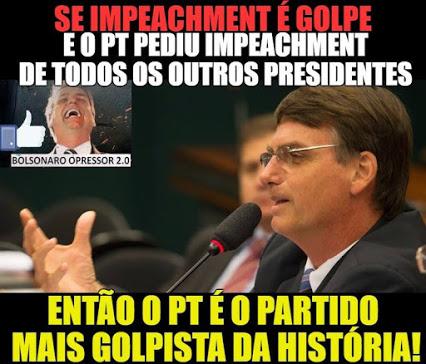 Jair Bolsonaro - Se impeachment é golpe