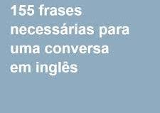 155 frases em inglês