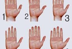 teste das mãos
